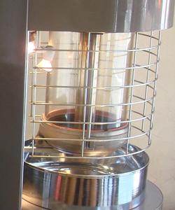 ▲注文を受けてから生豆を焙煎するので劣化のない最も鮮度の良い状態で提供できる。好みに合わせて焼き方のカスタマイズも自由自在。
