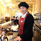 キャピタルコーヒー 本社店 店長 森田さん