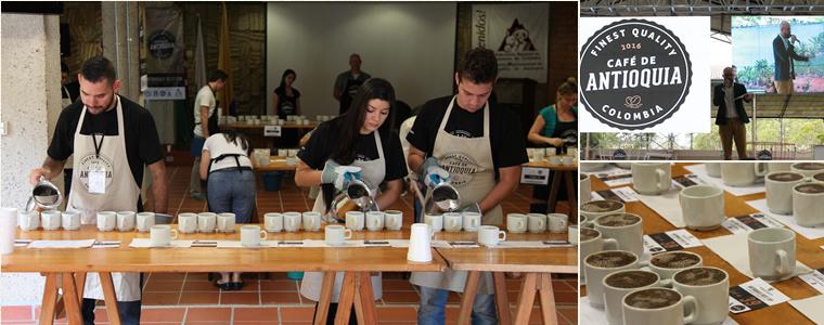 コロンビア、アンティオキアでのコーヒー品評会