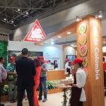 コロンビアコーヒー生産者連合会のブース